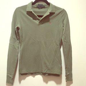 Ralph Lauren Green Skinny Polo